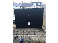 Used Garage Door (black)
