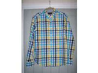 4 MEN'S SHIRTS FOR SALE - ALL MEDIUM REGULAR FIT. 3 HARDLY WORN AND ALL IN EXCELLENT CONDITION - £16