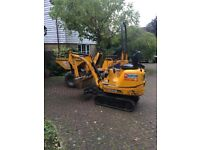 Mini digger &a plant hire Medway / Kent self drive & operator/ groundwork