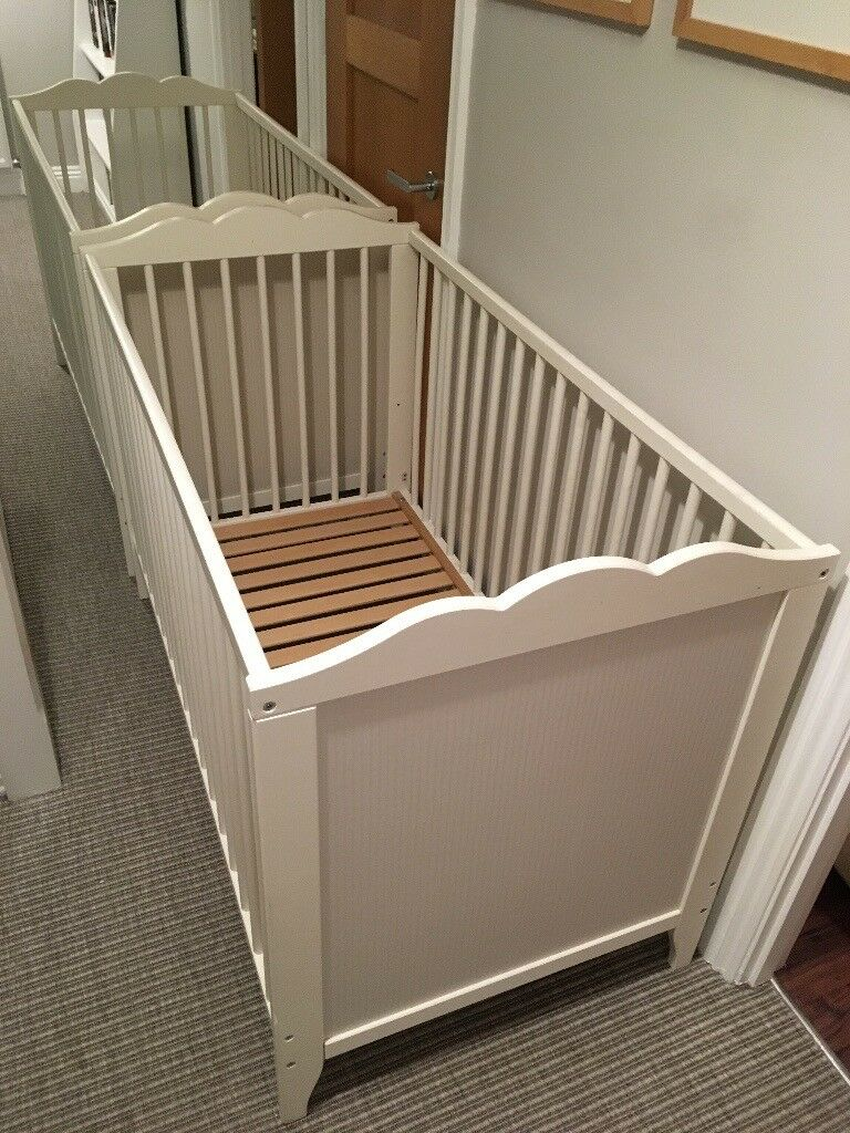 2x Ikea Hensvik Cots- will separate