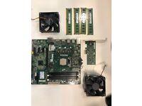 Intel (R) Core i7-4790, 4 x 4 GB Samsung, SSD and more
