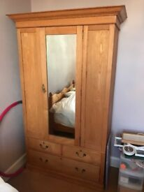 Beautiful antique wooden wardrobe in perfect condition