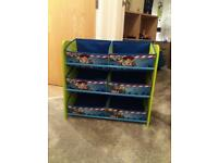 Toy story storage unit
