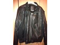 Gents leather Look Jacket XXL