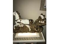 Romany horse and kart