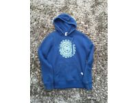 Saltrock Size 10 blue Hoody with pockets. VGC. £3. torquay or can post.
