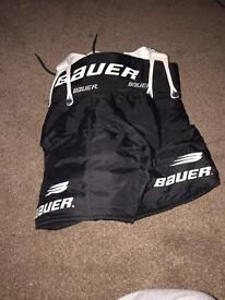 Kids ice hockey equipment