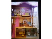Excellent condition large dolls house. ELC dolls house with furniture. Ideal Christmas present.