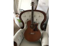Tanglewood electric acoustic guitar TW45NSB near new