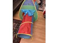 Kids play tent/ tunnel