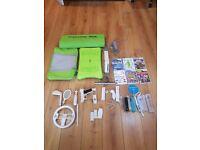 Nintendo Wii + Games + Extras