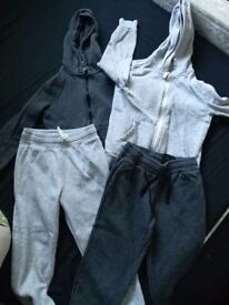 Boys Hooded Jackets and Joggers