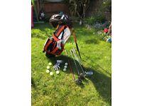 Childs golf bag starter set for sale £15