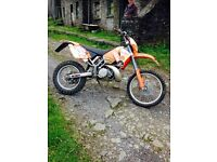 KTM 300 EXC Enduro road registered