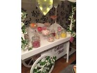 Candy Cart and candy floss maker