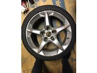 "Astra 18"" Alloy needs a refub, but no cracks or bends"