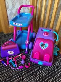 Doc mcstuffin toy bundle