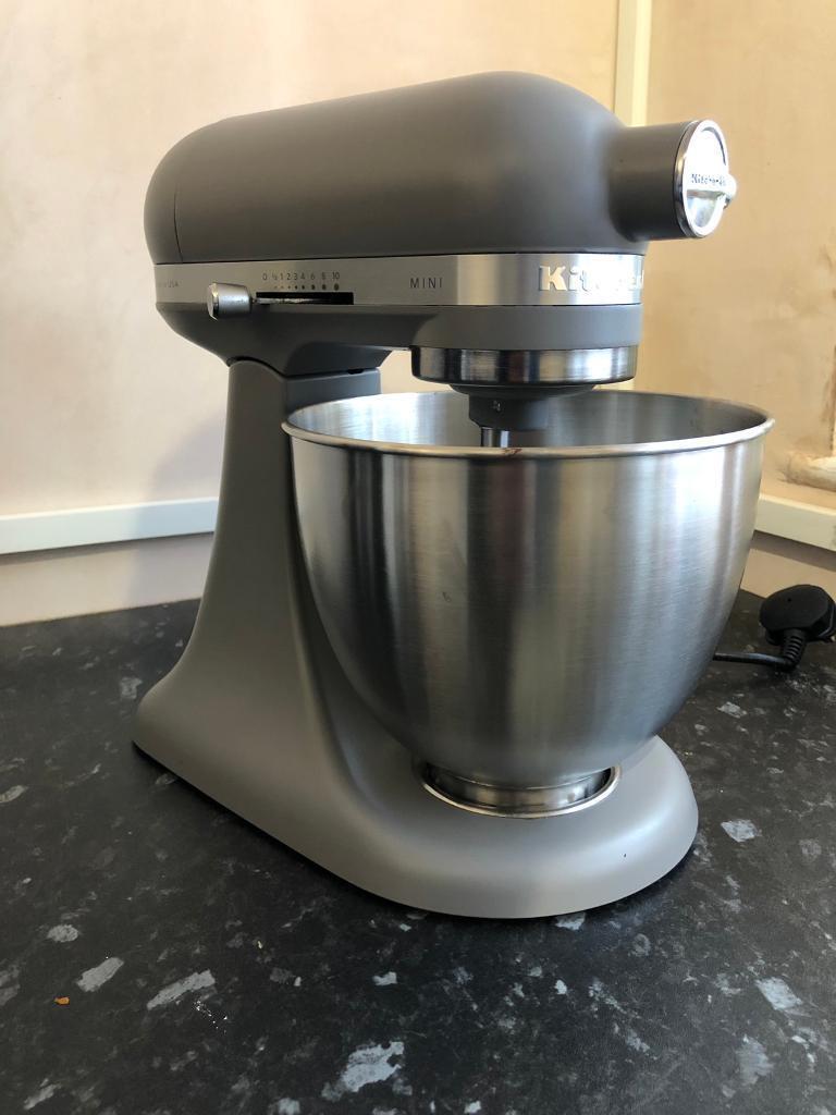Kitchenaid 3 3l Stand Mixer Matte Grey In Glastonbury