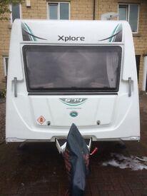 2016 Elddis Xplore 574 SE touring caravan