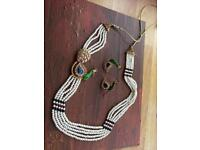 Indian plated jewellery set