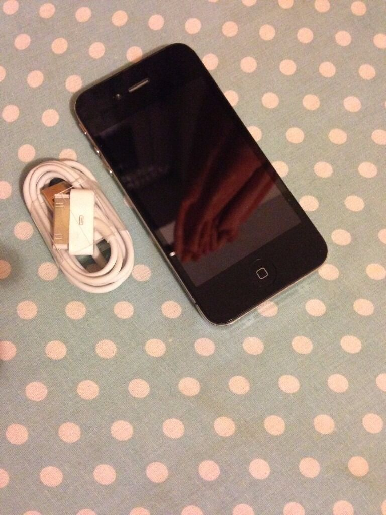 iphone 4 black 16gb Voda/Lebarain Coventry, West MidlandsGumtree - iphone 4 black Voda/lebara Comes with usb charger and plug Factory reset for new owner Full working condition Selling price 50 Fixed no offers please quote iphone 4 voda when call or sms thanks