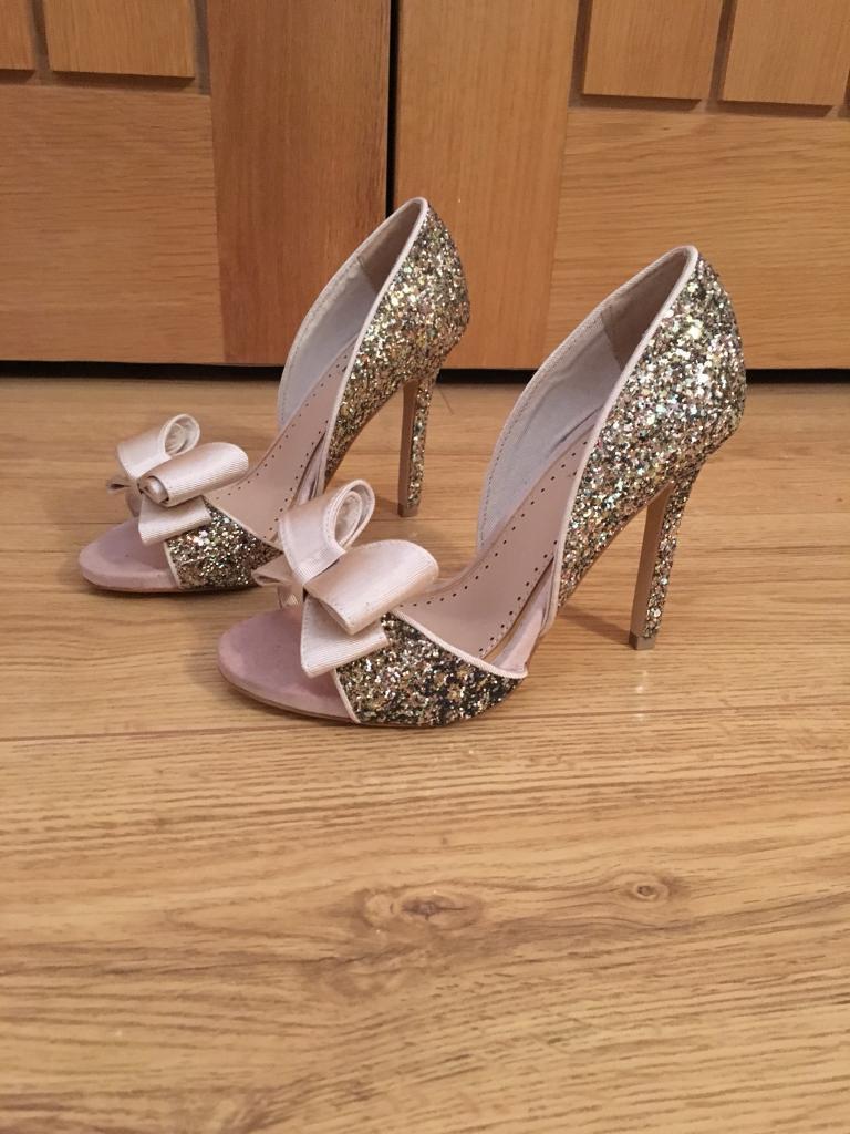 Miss Kurt Geiger glitter shoes