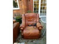 Free 3 seater armchair and recliner chair