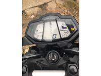 Yamaha 125 65 plate