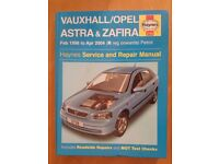 Haynes Manual for Vauxhall Astra