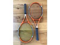 Boris Becker 11 Tennis Rackets x 2. Grip 3. Super Rare..