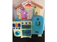 peppa pig kitchen play toy kids toddler girl boy