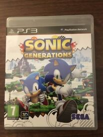 Playstation 3 Sonic Generations PS3 Game