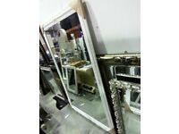 Very Large Ornate Framed Mirror, 142cm x 202cm, £189