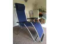 Lafuma reclining reflexology chair