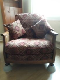 Easy chair - Ercol Bergere - reduced - grab a bargain. - British hand made, not from China