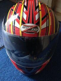 Crash helmets x 2
