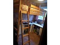Celeste 3ft high sleeper bed frame