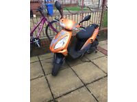 SCOOTER SYM JET 50 new exhaust, tyres , battery . MOT 10.17