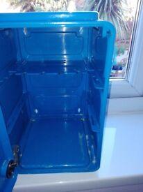 Blue IKEA bathroom cabinet still available instore
