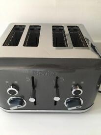 Breville lustra grey toaster BROKEN