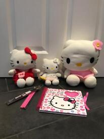 Bundle of HELLO KITTY toys