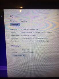 Samsung laptop on windows 8