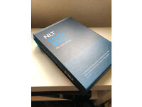 NLT Study Bible with case