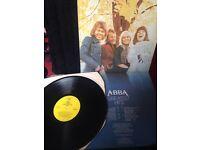 """Abba greatest hits 12"""" vinyl LP"""