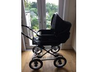 Silver Cross pushchair with classic chassis