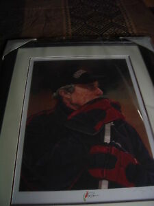 Autographed Portrait of Roger Neilson as Coach of the Senators