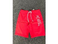 ABERCROMBIE & FITCH MENS SHORTS BRAND NEW WITH TAGS. 32 INCH WAIST