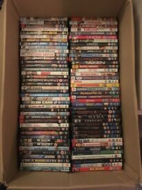 Over 100 dvds for quick sale