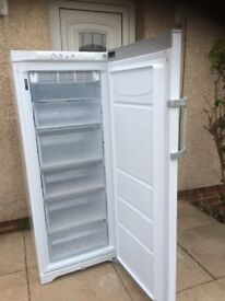 FROST FREE UPWRIGHT HOTPOINT FREEZER IN EXCELLENT WORKING CONDITION