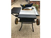 MacAlister 1500w Portable Table Saw. 254mm blade. Only had light use so in good condition